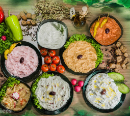 APPETIZER - DIPS  - DRESSINGS